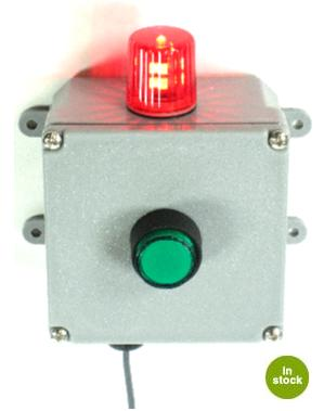 ALARM PANEL BOX WITH BEACON LED